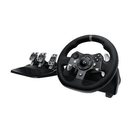 Logitech G920 Driving Force Проводной, Руль  — 33490 руб. —  Тип контроллера Руль , Тип связи Проводной , Виброотдача, Совместимость с Xbox One , Интерфейс подключения к ПК USB , Гарантия фирмы производителя