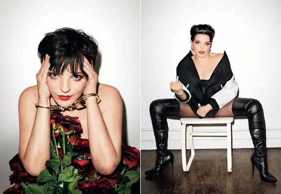 65-Year-Old Liza Minnelli Poses for Terry Richardson, Continues to Look Better than All You Other Basic Bitches -dayyyyum!