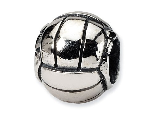$25.00 Reflections(tm) Sterling Silver Volleyball Bead / Charm crafted in 925 Sterling Silver . Dimensions: Width: 11.00 mm Length: 9.50 mm. Finejewelers Style Number: QRS1154.: Silver Volleyb, Beads Sterling, Volleyb Charms, Sterling Silver, Reflection Sterling, Charms Crafts, Volleyball Beads, 925 Sterling, Volleyb Beads