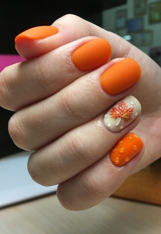+36 Adorable Fall Nail Art Designs that Will Completely Beautify Your Look