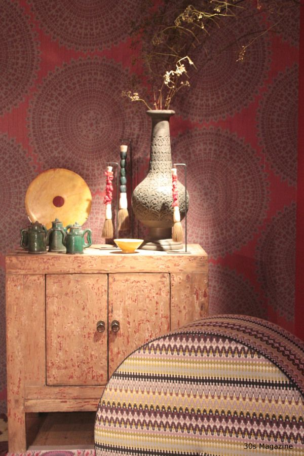 nomad trend, seen at the Woonbeurs, Amsterdam and at the ETC, Meet the Masters of Interior fair, source;  30s Magazine