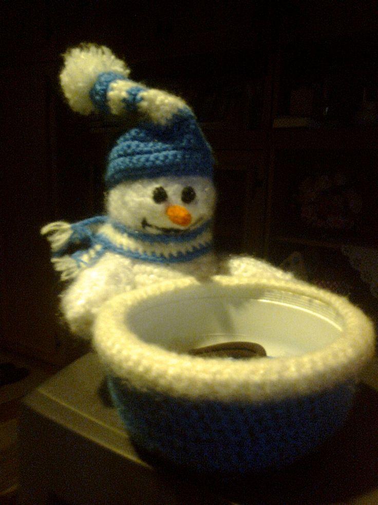 Hóember kínálótálkával