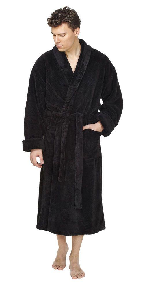 ab91701219 ARUS MEN S PLUSH SOFT FLEECE TURKISH SHAWL COLLAR BATHROBE  fashion   clothing  shoes  accessories  mensclothing  sleepwearrobes (ebay link)