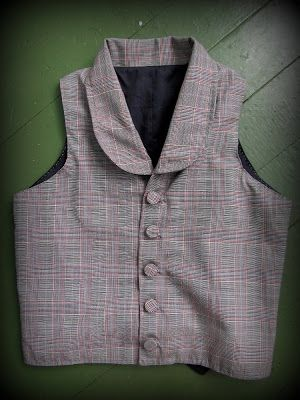 Romantic History: 1860's Clothes for David