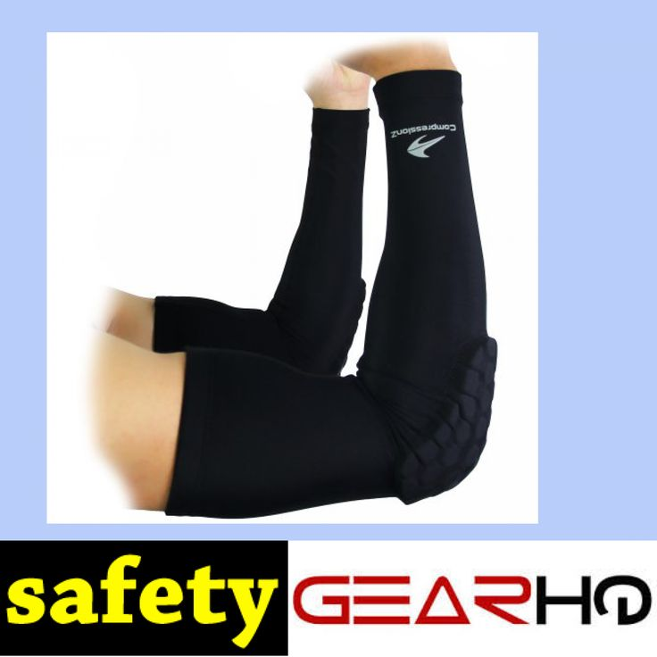 Padded Arm Sleeves (1 Pair) Men, Women & Youth Compression Basketball Shooter Sleeve - Offers Best Elbow Warmers & Forearm Protection for Football, Running, Volleyball & Athletic Contact Sports S http://www.safetygearhq.com/product/personal-safety/knee-elbow-protection/padded-arm-sleeves-1-pair-men-women-youth-compression-basketball-shooter-sleeve-offers-best-elbow-warmers-forearm-protection-for-football-running-volleyball-athletic-contact-sports-s/