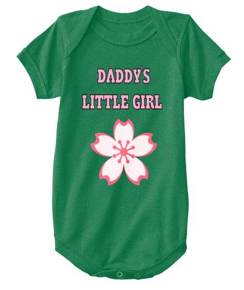Daddy's   Little Girl Kelly T-Shirt Front
