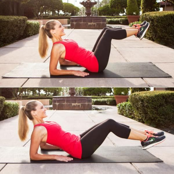 Lose the Pooch! The Best Exercises for Lower Abs | Shape Magazine. I need to try this workout.