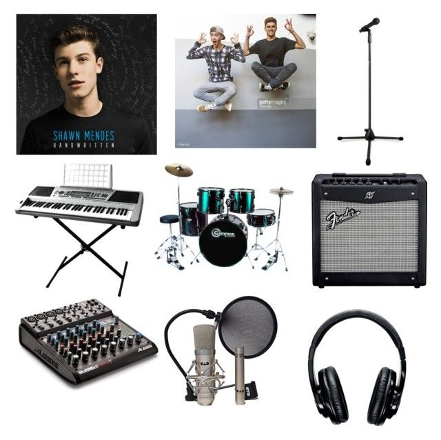 """Magcon Story musical decor 2"" by sophatopia ❤ liked on Polyvore featuring interior, interiors, interior design, home, home decor and interior decorating"