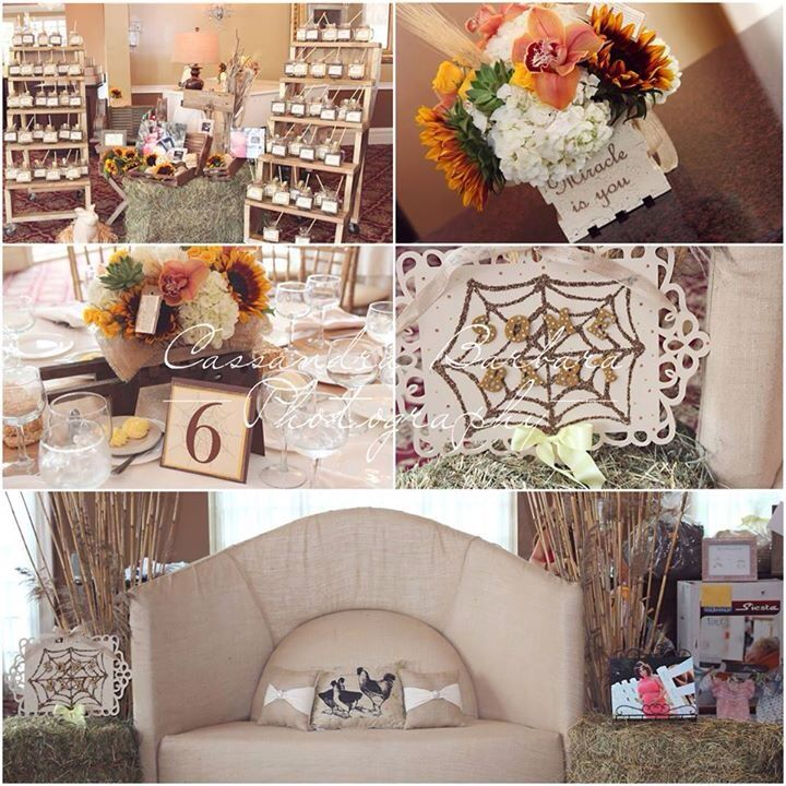 17 best images about charlottes web baby shower on