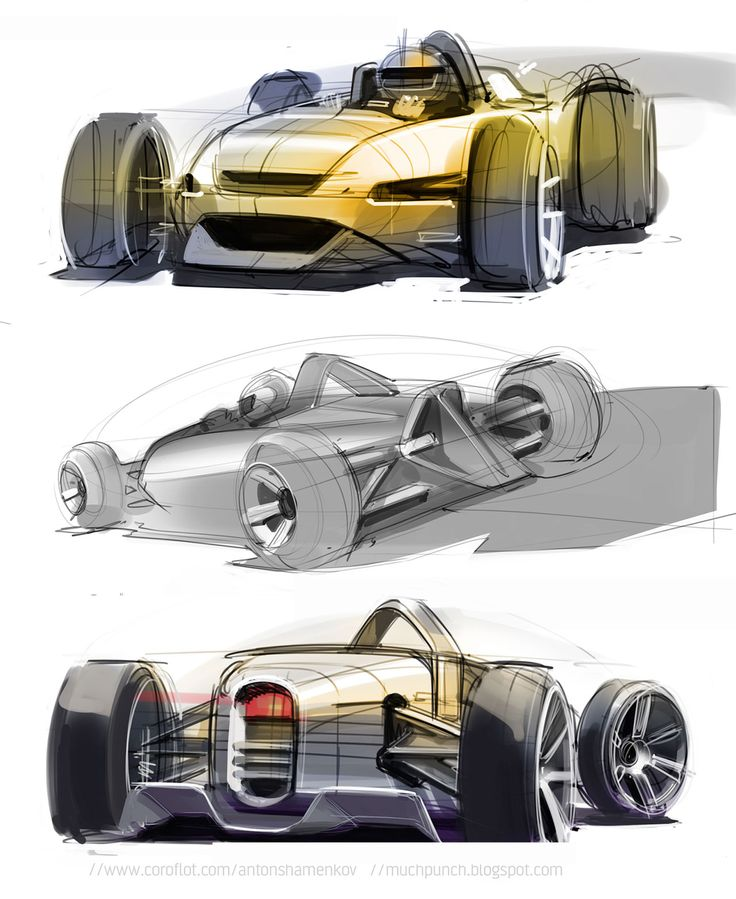 Concept Design Sketches by Anton Shamenkov