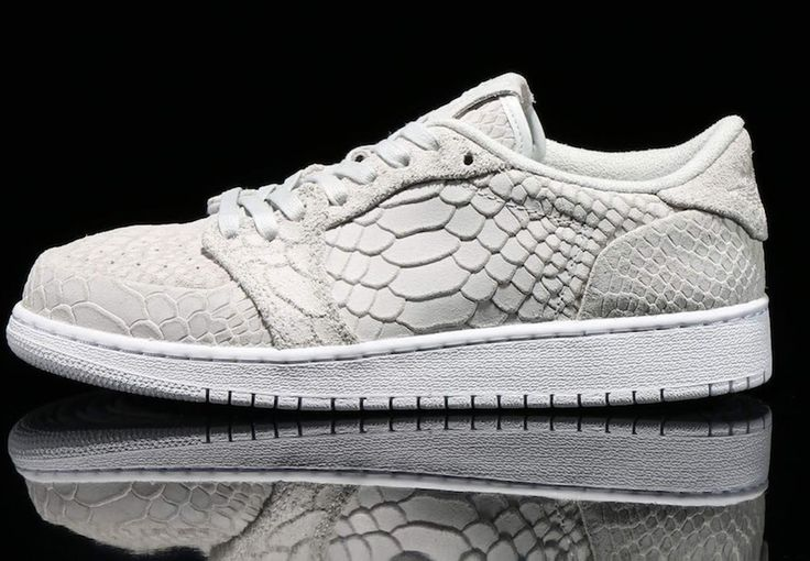 "http://SneakersCartel.com The Air Jordan 1 Low Swooshless Also Returns in ""Off-White Python"" #sneakers #shoes #kicks #jordan #lebron #nba #nike #adidas #reebok #airjordan #sneakerhead #fashion #sneakerscartel"