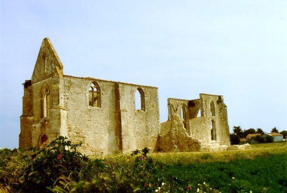 abbaye des Châteliers à la Flotte, Ile de Ré