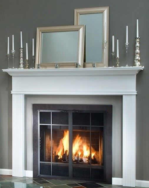 10 best amish fireless images on pinterest amish for Prefab fireplace inserts