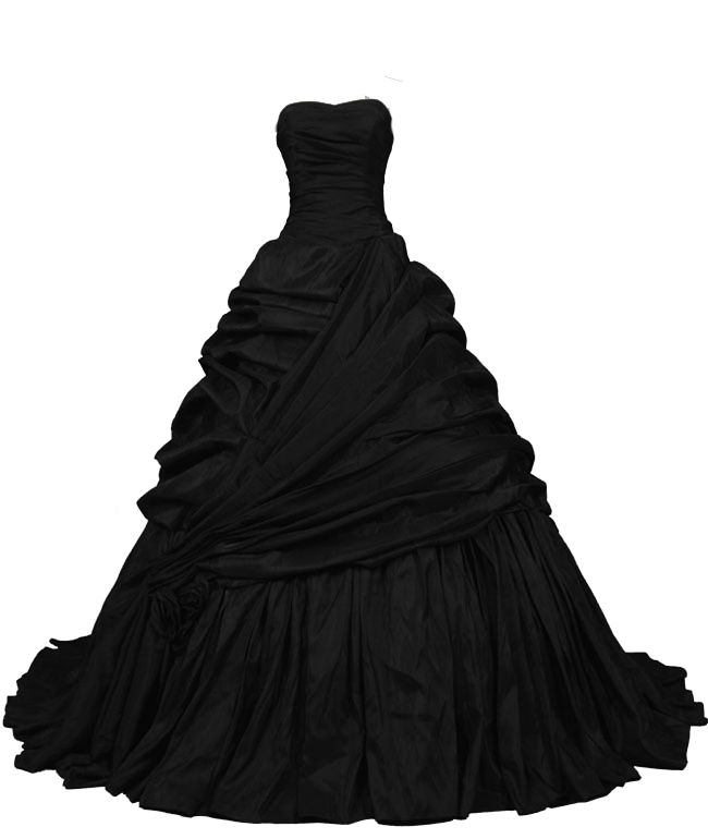 Black Ball Gown PNG by ~Vixen1978 on deviantART