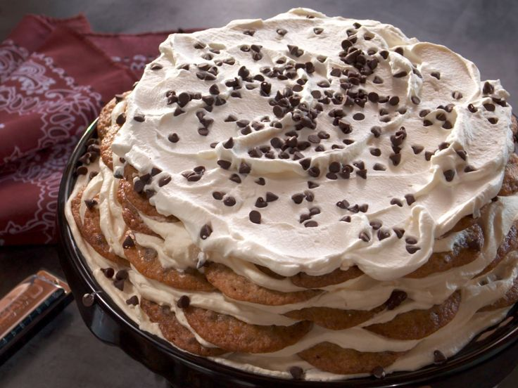 Get this all-star, easy-to-follow Chocolate Chip Cookie Icebox Cake recipe from Nancy Fuller