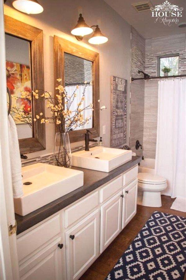 10 Creative Farm Style Bathroom renovation ideas for your home