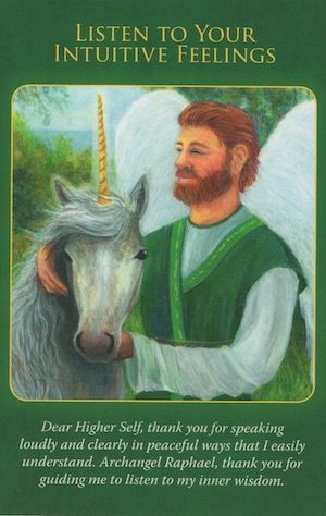 Archangel Raphael wants you to listen to your physical and emotional feelings... (click image to keep reading)