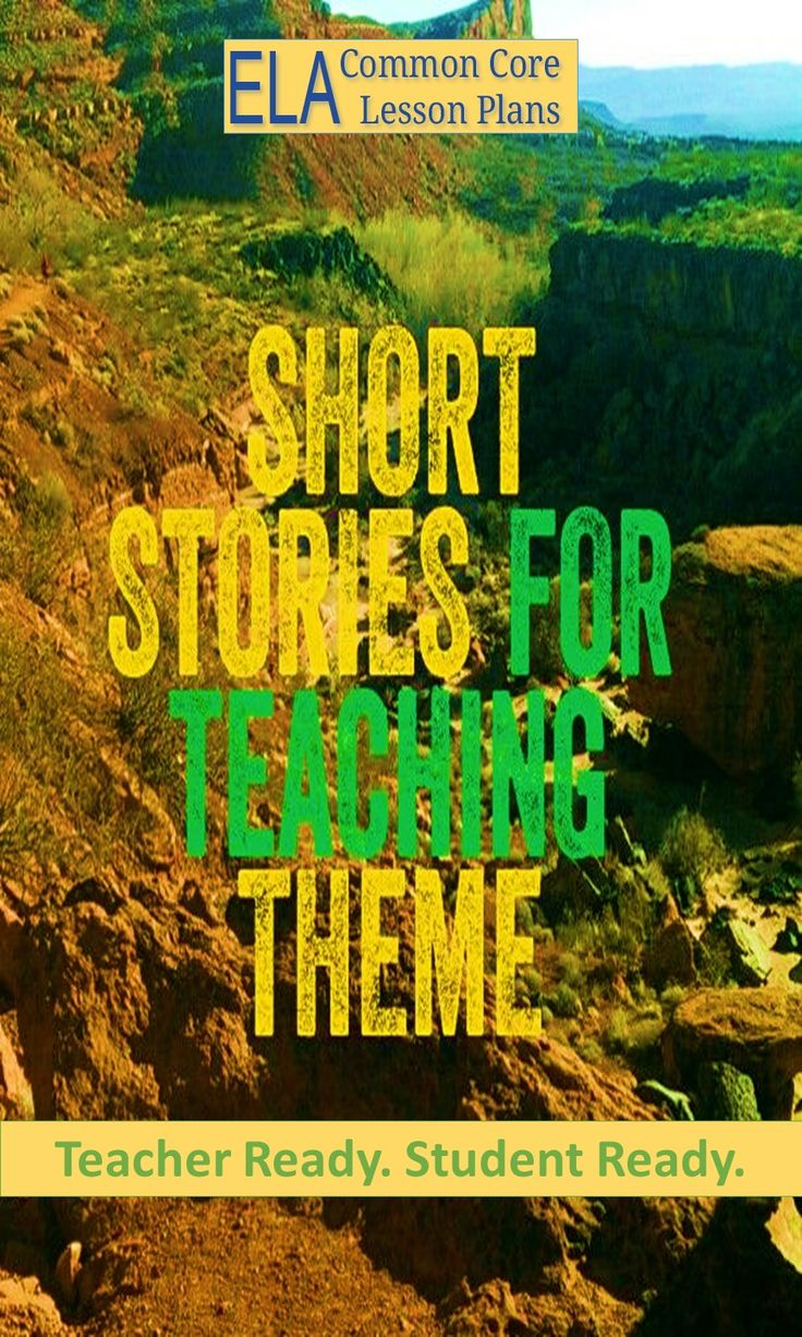 Lots of short stories and a graphic organizer for students to explore theme by looking at specific examples from the stories. jj