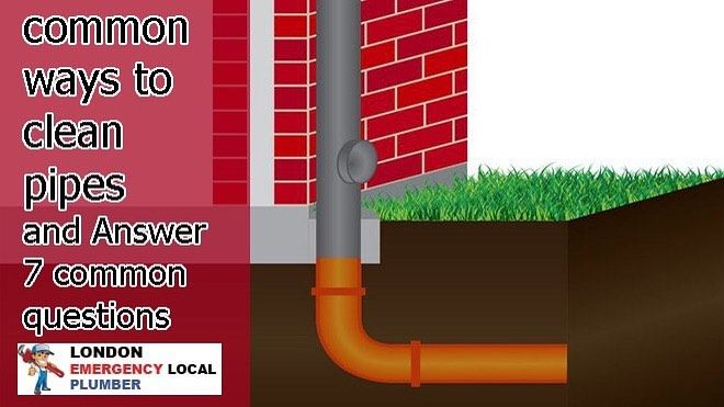 In This Post About Common Ways To Clean Pipes And Answer 7 Common Questions I Ll Tell You And Here Are Some In 2020 This Or That Questions Cleaning Plumbing Emergency