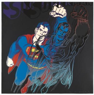 Andy Warhol - Myths: Superman