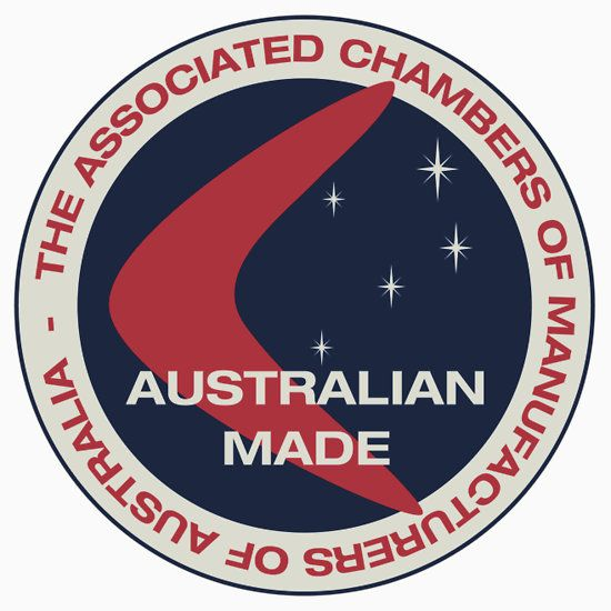 Old Australian Made logo/seal
