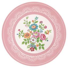 printable miniature plate (click for several designs) assiettes