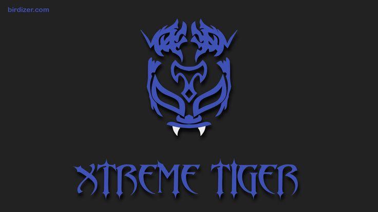 Xtreme Tiger máscara wallpaper