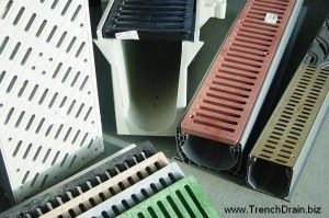 25 best ideas about trench drain on pinterest trench for Residential trench drain
