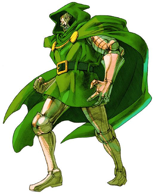Doctor Doom from Marvel vs. Capcom 2: New Age of Heroes
