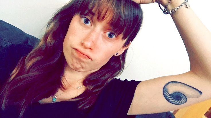 My nautilus shell tattoo