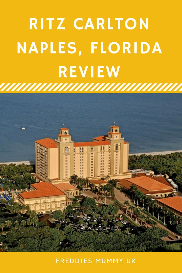 The Ritz-Carlton Hotel, Naples Florida Review. A family review of this five star hotel in Florida. This is the 5th best hotel in Florida, read my review... #travel #hotel