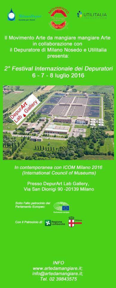 Ecco la DepurArt lab Gallery!!! Presso il Depuratore di Milano/Nosedo nel Parco della Vettabbia !
