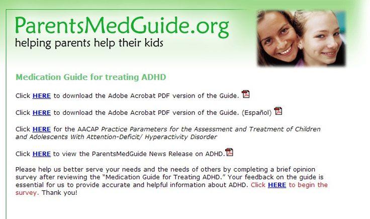 by Soleil Gregg, MA ADHD Medication Resources - chadd.org