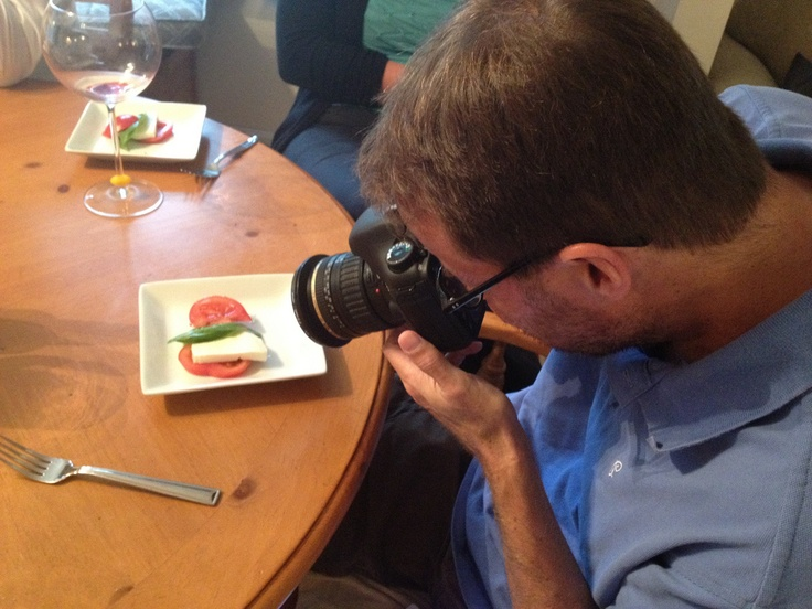 Snapping photos of the delicious dishes! See more here: http://thoughtfuleating.blogspot.com/2012/08/chile-olive-oil-chileevoo-event-hosted.html