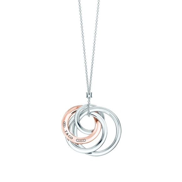 e24cd005a TIFFANY 837®:Interlocking Circles Pendant Proudly inscribed with the year  Tiffany was founded, the Tiffany 1837® collection is defined by sleek  curves and ...