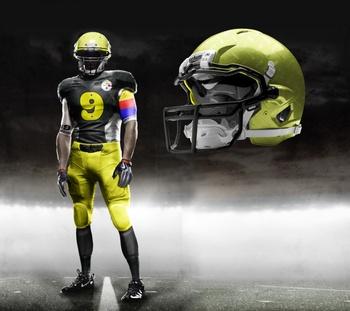 Steelers?  Sweet uniform..