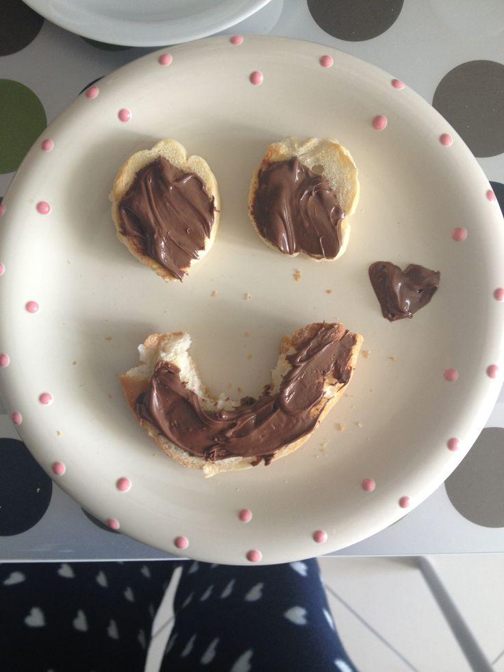 My sweet breakfast   :)