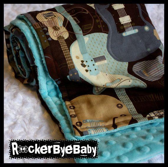 rocker baby blanket