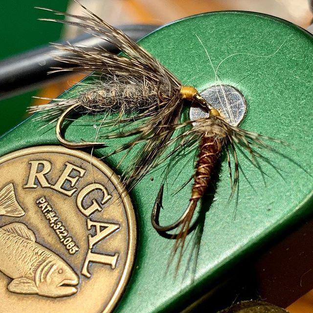 Some Of The Wet Flies Tied By At The Orvis 201 Fly Tying Class In
