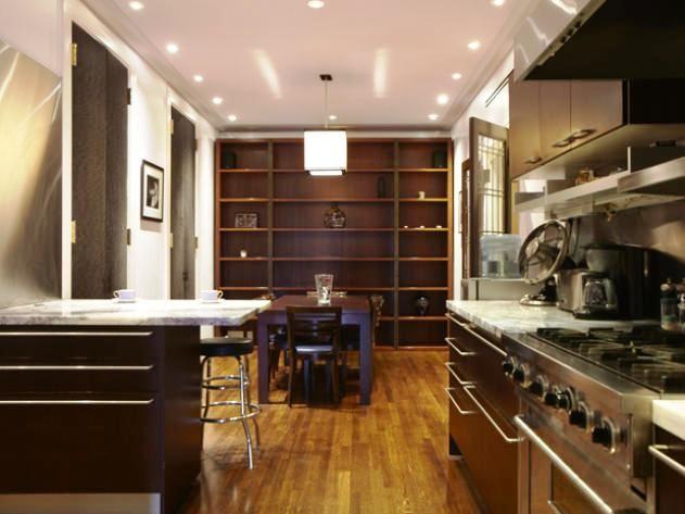Appartamento di Madonna in vendita a Manhattan. Foto sala pranzo/cucina visto su http://blog.globocase.com/mercato-immobiliare/vendita-immobiliare-lenta-madonna