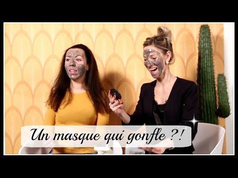 UN MASQUE BEAUTÉ POUR LE VISAGE QUI GONFLE, LE TEST!