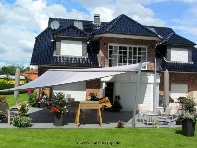 18 best sonnensegel in elektrisch aufrollbar images on pinterest electric shade sails and. Black Bedroom Furniture Sets. Home Design Ideas