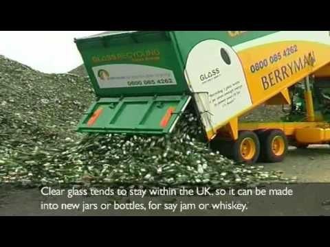 The smashing story of recycling Glass - YouTube