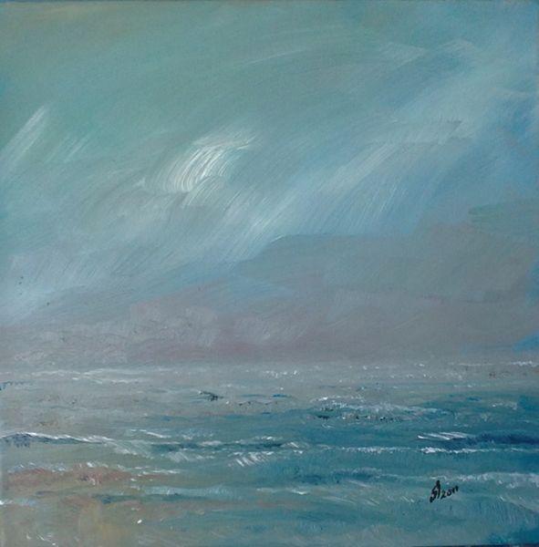 ocean...oil painting