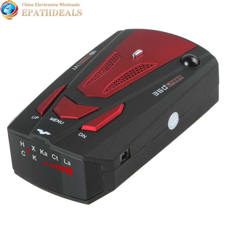 V7 Car Radar Detector 360 Degree Detection English & Russian Voice Alert 16 Band Auto Anti Radar Detector for Car Speed Limited //Price: $26.24 & FREE Shipping //     #GAMES