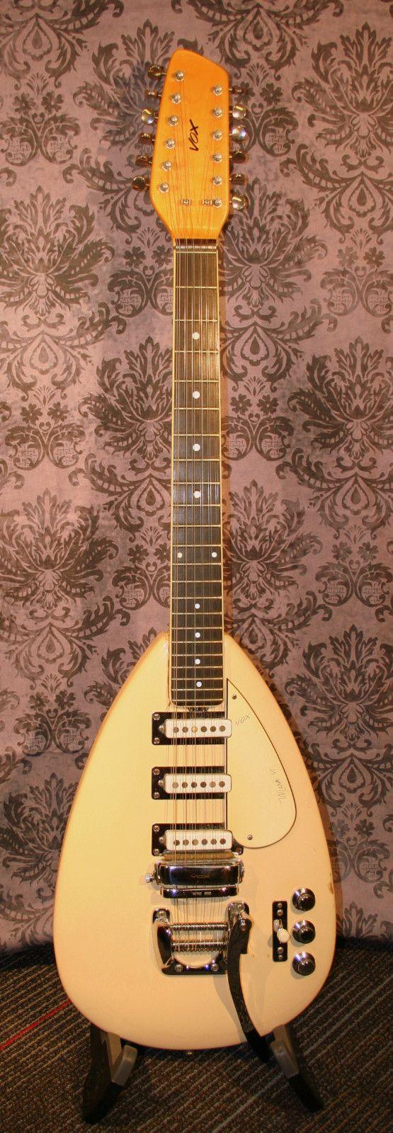 Vintage Mid Sixties Vox Mark Vi 12 String Teardrop