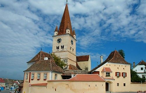 Biserica Evanghelica Fortificata din Cisnadie, alte obiective religioase Sibiu, Sky Trip