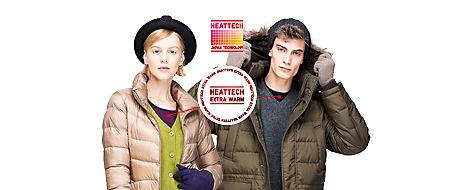 Women's & Men's Heattech #UNIQLO #fashion #Heattech #cold #winter