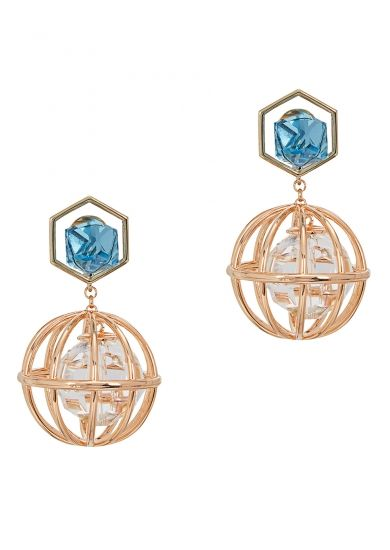 2d7ab1b93a7f8 Atelier Swarovski X Mary Katrantzou Nostalgia drop earrings - Harvey Nichols