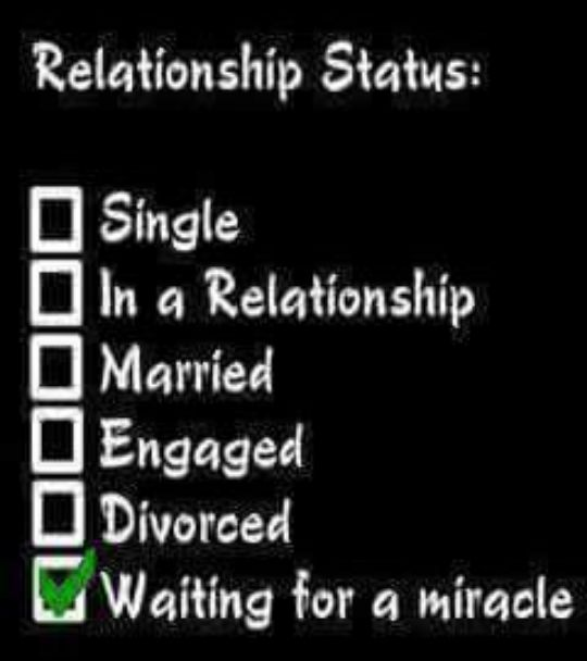 facebook relationship status married single